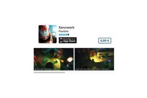 """Xenowerk es un excelente título de acción para los """"gamers"""" más serios. Precio 1 dólar Foto:De Pixelbite. Imagen Por:"""