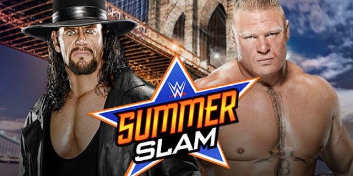 La promo de la revancha entre The Undertaker y Brock Lesnar para SummerSlam