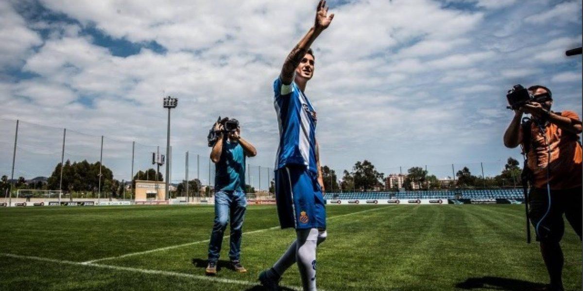 Enzo Roco debutó con una dura derrota en el Espanyol