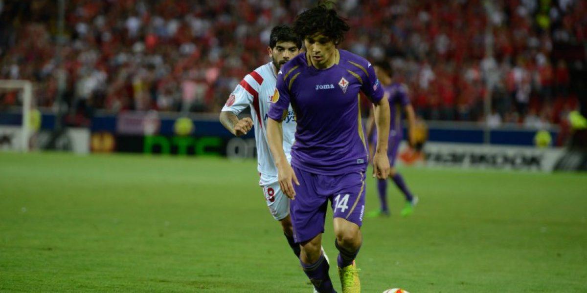 Matías Fernández falló un penal en victoria de la Fiorentina