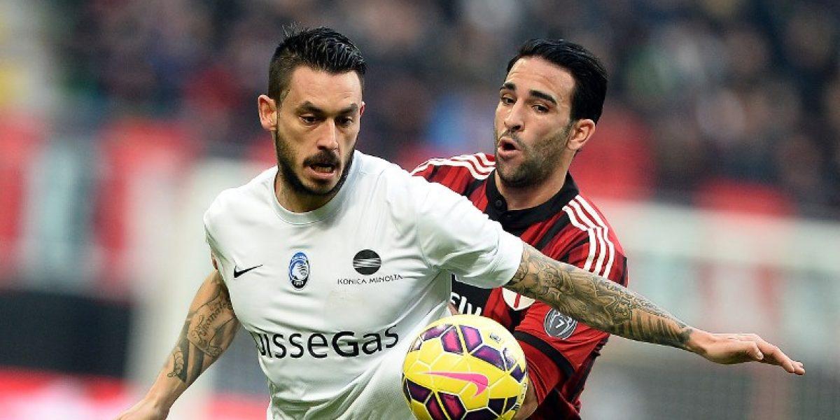 Mauricio Pinilla aportó con un gol en victoria de Atalanta por la Copa de Italia