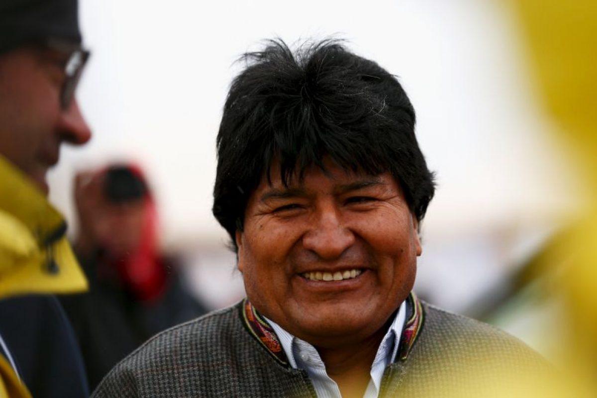 Evo Morales, presidente de Bolivia Foto:Getty Images. Imagen Por: