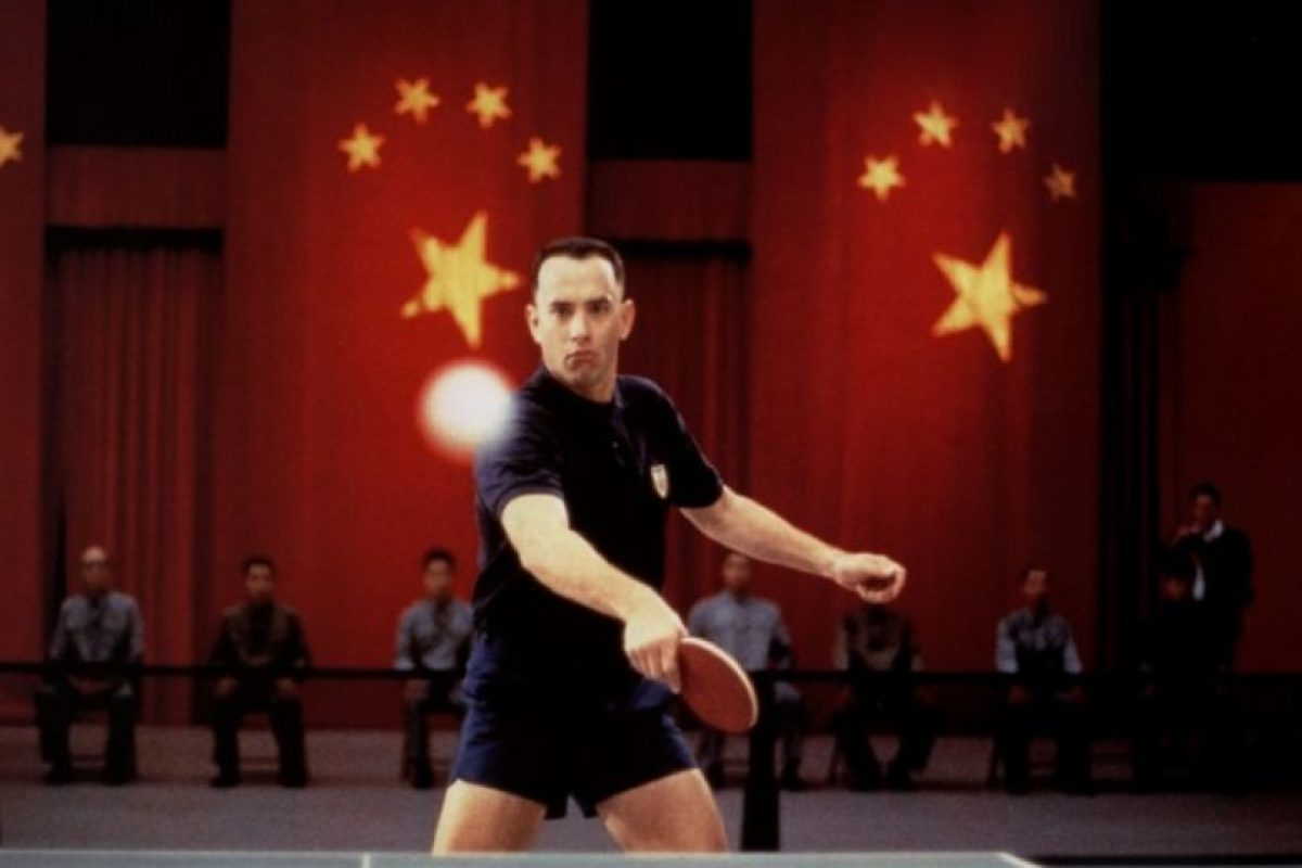 Forrest jugaba ping-pong. Por eso se hizo famoso. Foto:vía Paramount Pictures. Imagen Por:
