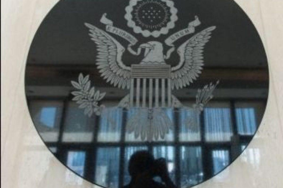Así luce la embajada Foto:Getty Images. Imagen Por: