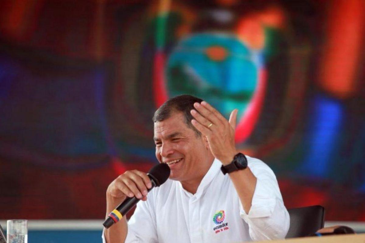 Rafael Correa, presidente de Ecuador Foto:Getty Images. Imagen Por: