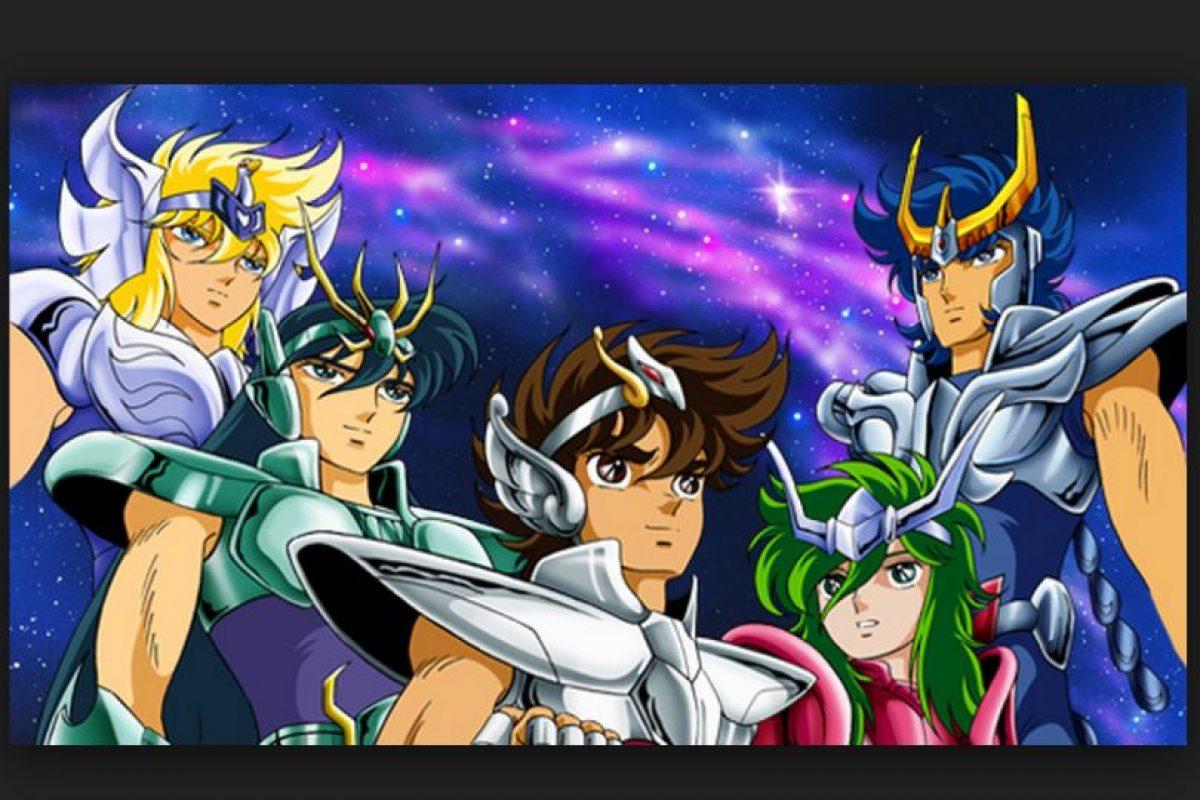 """""""Saint Seiya"""" es conocido en español como """"Los Caballeros del Zodiaco""""; es un manga creado en 1986 por Masami Kurumada Foto:Toei Animation. Imagen Por:"""
