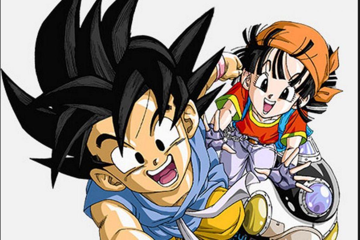 """""""Dragon Ball GT"""" es una especie de versión alterna a """"Dragon Ball"""", con """"Goku"""", """"Pan"""" y """"Trunks"""" como personajes principales Foto:Akira Toriyama/Fuji Television. Imagen Por:"""