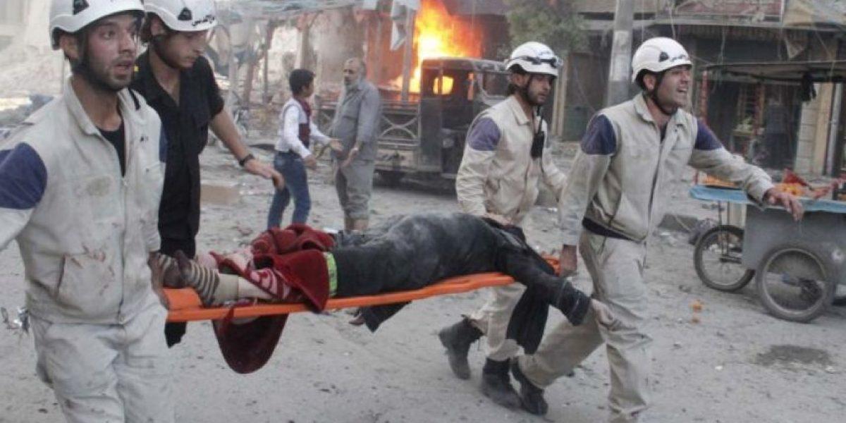Bombardeo en mercado de Siria deja alrededor de 80 civiles muertos