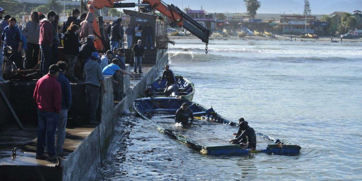 Pescadores artesanales solicitan se declare a Tongoy zona de catástrofe