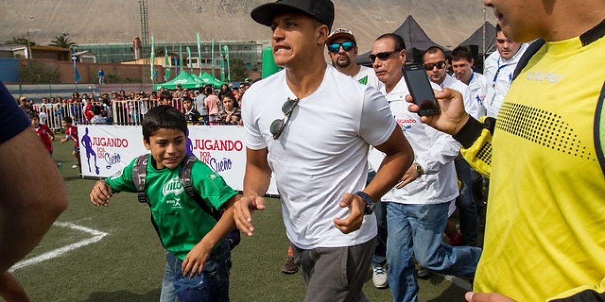 Alexis Sánchez envió ayuda a los damnificados de Tocopilla