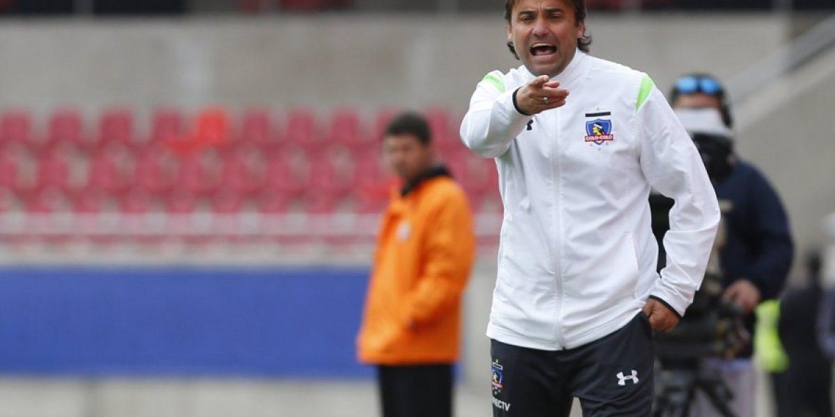 Sierra se ilusiona con el juego de Colo Colo: