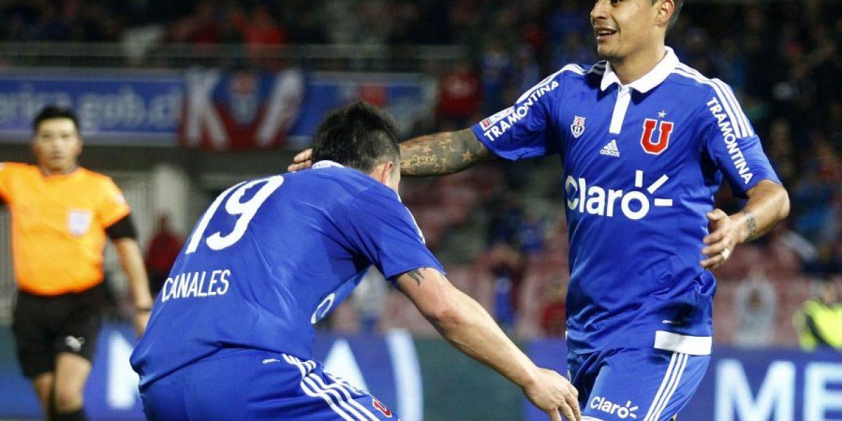 La U logró su primera victoria en el Apertura tras vencer a San Luis