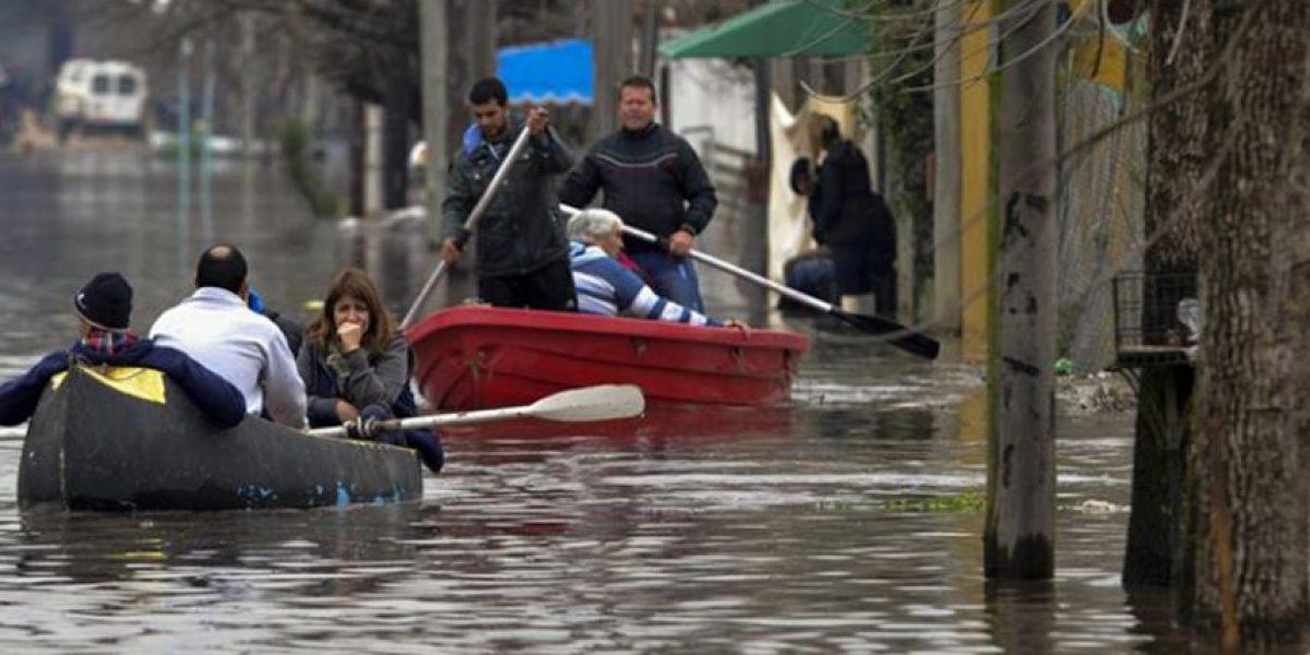 Más de 2.300 personas han sido evacuadas en Uruguay por inundaciones