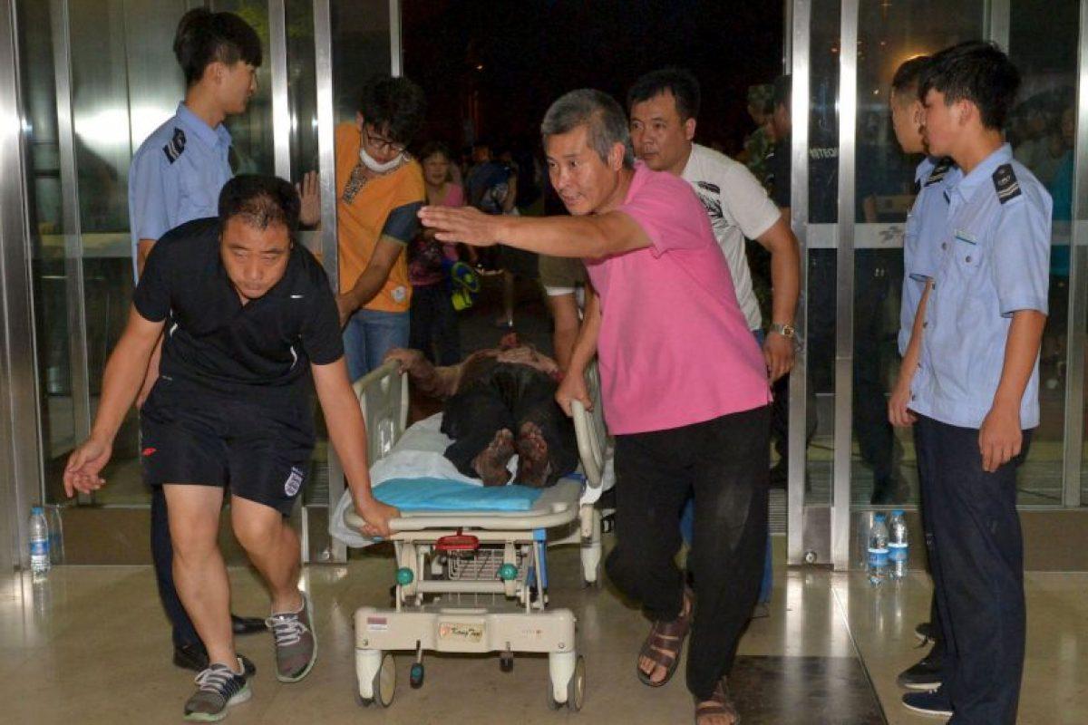 Al menos 700 personas resultaron heridas. Foto:AFP. Imagen Por:
