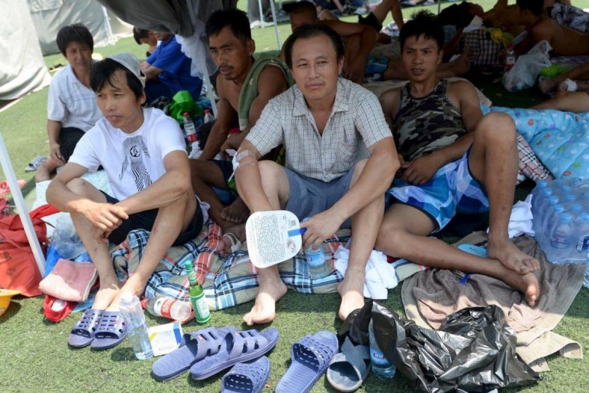 Miles de personas fueron evacuadas de sus hogares. Foto:AFP. Imagen Por: