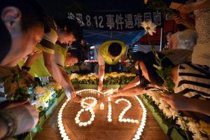 Estos son los tributos a las víctimas de la tragedia Foto:AFP. Imagen Por:
