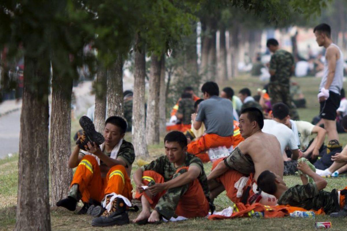 La mayoría de las víctimas son bomberos Foto:AP. Imagen Por: