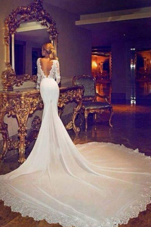 Filtran vestido de novia\