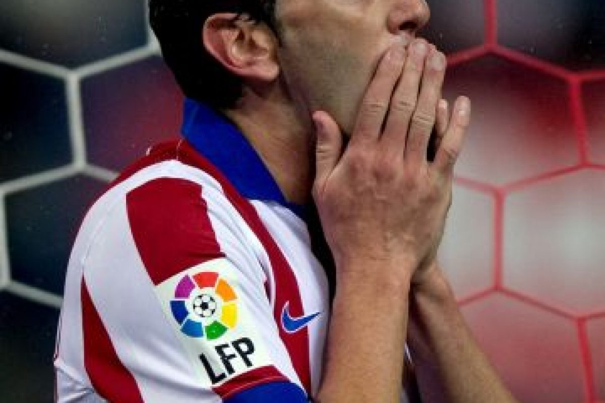 """El uruguayo, referente de la defensa """"colchonera"""", se ha convertido en uno de los mejores latinoamericanos de España. Foto:Getty Images. Imagen Por:"""