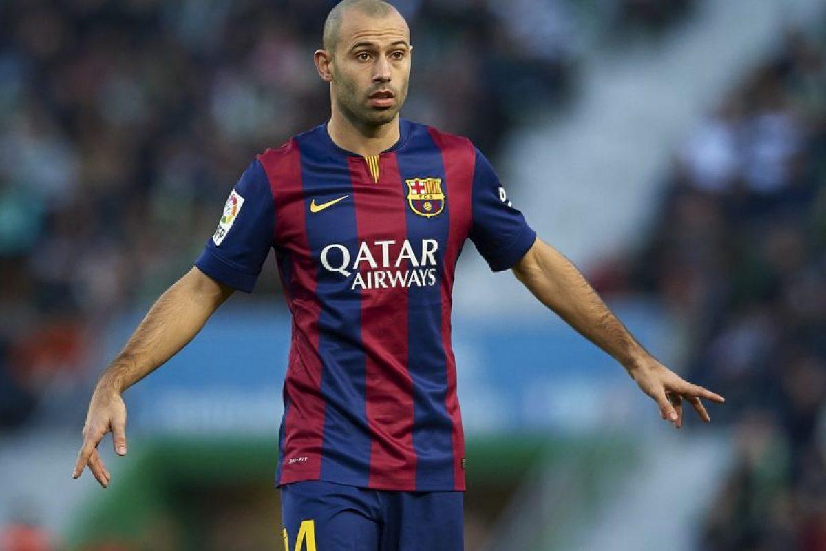 """El """"Jefecito"""" seguirá cumpliendo su papel como central en el Barcelona que no desea dejar de conseguir títulos. Foto:Getty Images. Imagen Por:"""