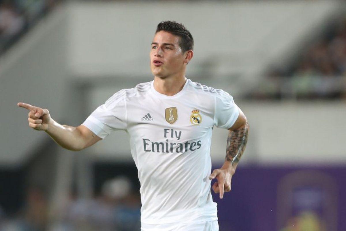 MEDIO OFENSIVO: James Rodríguez (Real Madrid/Colombia) Foto:Getty Images. Imagen Por: