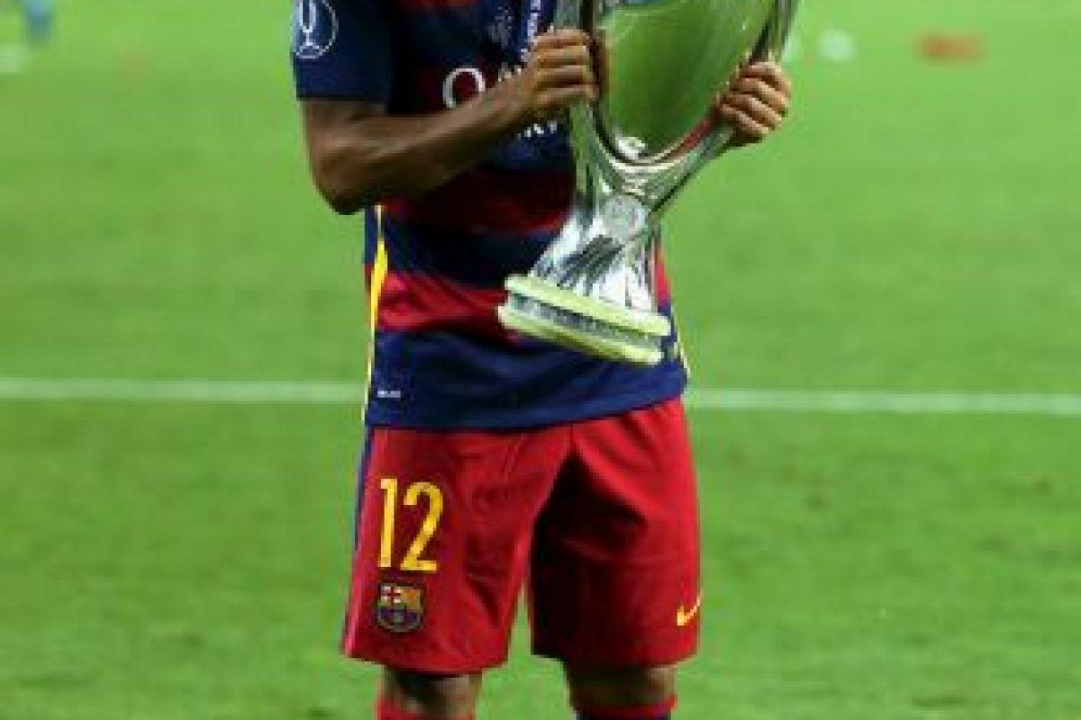 La temporada pasada no fue titular para Luis Enrique, pero sí lo utilizó como cambio recurrente por lo que este año, el brasileño buscará ganarse un lugar en el 11 titular del Barça. Foto:Getty Images. Imagen Por: