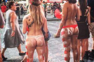 Los turistas las encuentran en Times Square. Foto:Vía instagram @6eE9ctIZe6. Imagen Por: