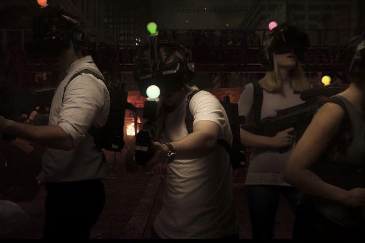 Donde ingresan los jugadores y comienzan el juego con los lentes de realidad virtual Foto:www.zerolatencyvr.com. Imagen Por: