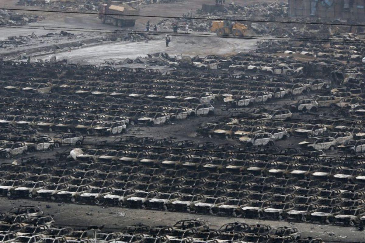 El 40% de los automóviles importados por China pasan por este puerto Foto:AP. Imagen Por: