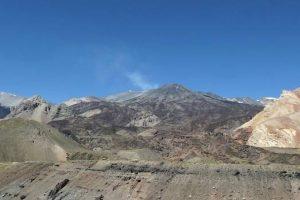 Volcán Tupungatito Foto:Sernageomin. Imagen Por: