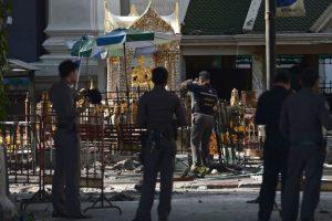 El atentado se produjo dentro del Santuario de Erawan. Foto:AFP. Imagen Por: