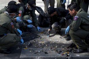 Un segundo ataque puso alerta a las autoridades de Bangkok. Foto:AFP. Imagen Por: