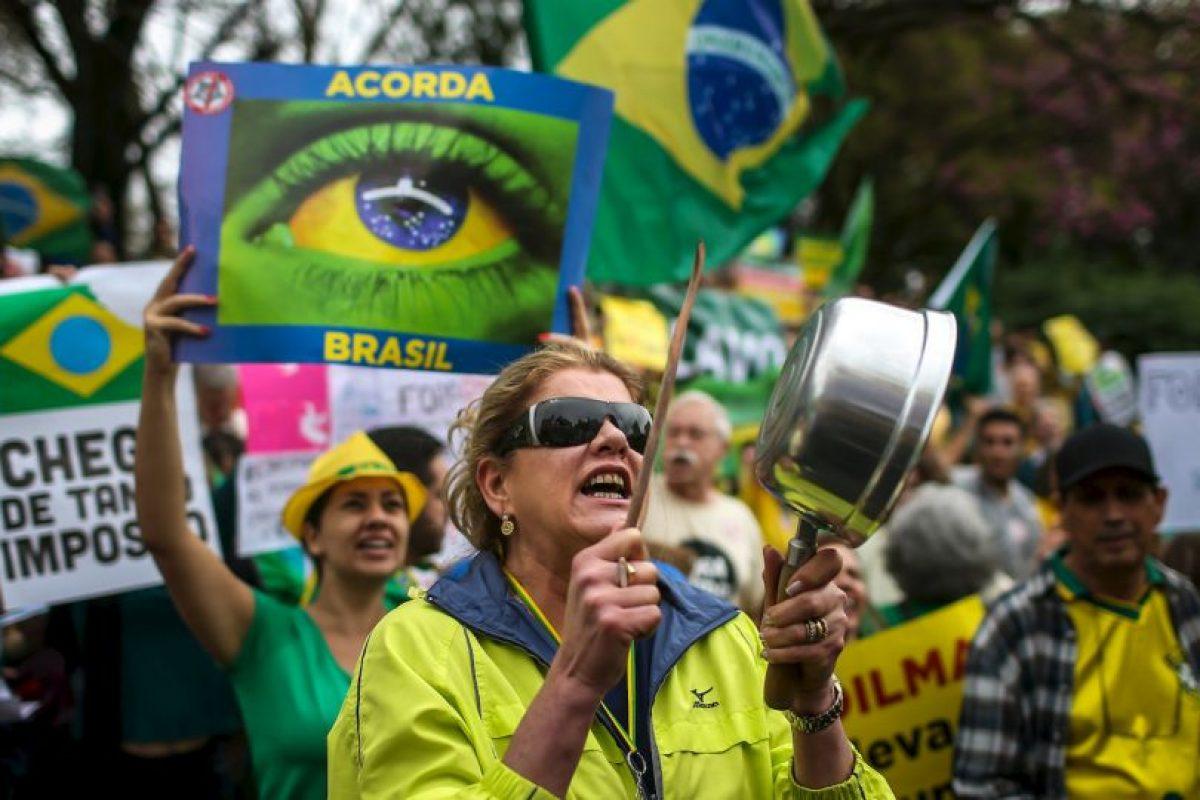 3. Las protestas se llevaron a cabo en ciudades como Sao Paulo, Río de Janeiro, Recife y Brasilia. Foto:AFP. Imagen Por: