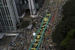 Tiene los peores niveles de aprobación desde que asumió en 2011 Foto:AFP. Imagen Por: