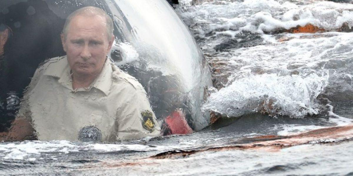 Paseo submarino de Putin desata otra crisis entre Rusia y Ucrania