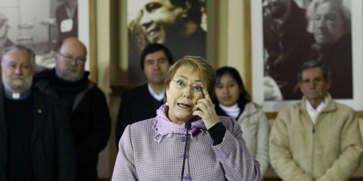 Bachelet llama al oficialismo a dejar de lado