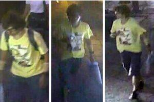 Imágenes del sospechoso, de quien no se conocen datos Foto:AP. Imagen Por:
