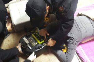 Mujer es atacada por su robot aspiradora Foto:Changwon Fire Service Headquarters. Imagen Por: