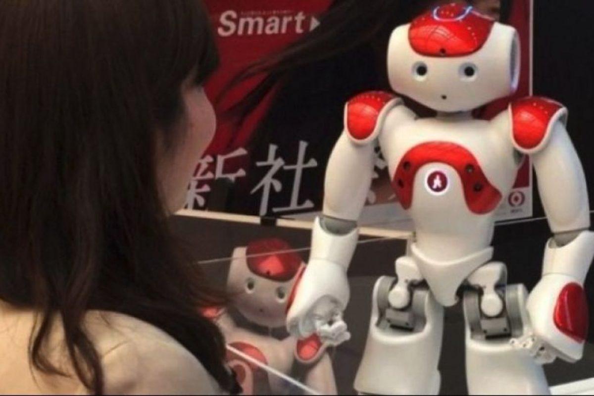 El robot que atienden los bancos japoneses Foto:instagram.com/345triangle/. Imagen Por:
