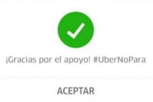 A finales de mayo pasado y como respuesta a las manifestaciones de taxistas contra Uber, la empresa regaló viajes gratis en Ciudad de México. Foto:Uber. Imagen Por: