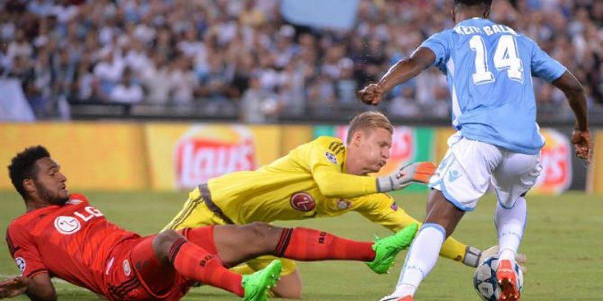 El golazo de Keita que le significó la derrota al Bayer de un Aránguiz suplente