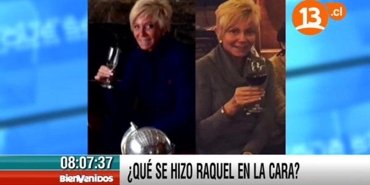 Rostro de Raquel Argandoña impactó a los animadores de