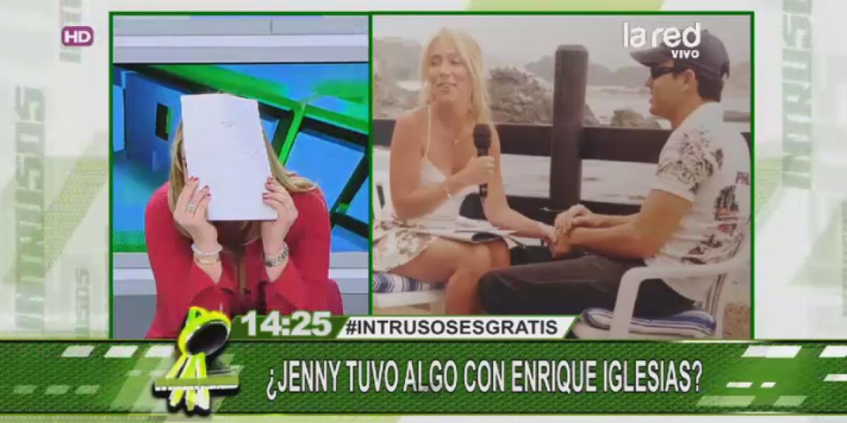 Comprometedora foto con Enrique Iglesias incomodó a Jennifer Warner