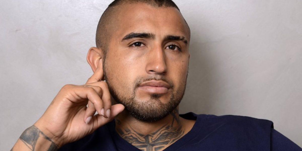 Crack y modelo: La sesión de fotos de Arturo Vidal en el Bayern Munich