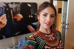 """La actriz lo usó en la presentación de la nueva temporada de """"From Dusk Till Dawn"""" Foto:Getty Images. Imagen Por:"""