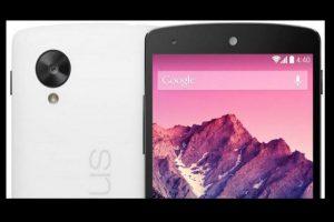 El sensor delantero tendría 13 megapíxeles y el trasero 4MP Foto:Nexus/Google. Imagen Por: