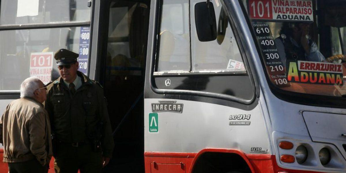 ¿Por qué se produjo el paro de micros en Valparaíso?