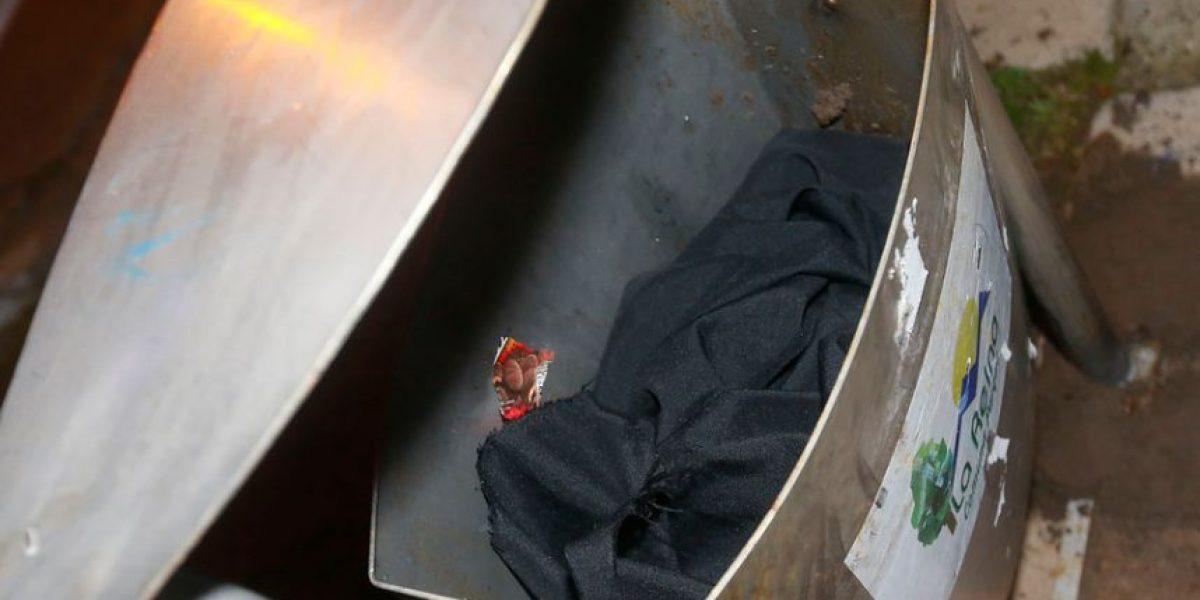 Así escondieron bomba que explotó cerca de la casa del fiscal Gajardo