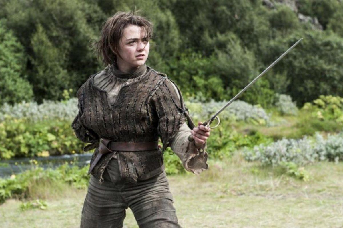 187 niñas nacidas el año pasado recibieron el nombre de Arya Stark. Foto:Vía HBO. Imagen Por: