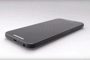 En la parte trasera, debajo de la cámara, el Nexus 5 tendría un sensor biométrico similar al del iPhone, con un anillo metálico en el borde Foto:twitter.com/@OnLeaks. Imagen Por: